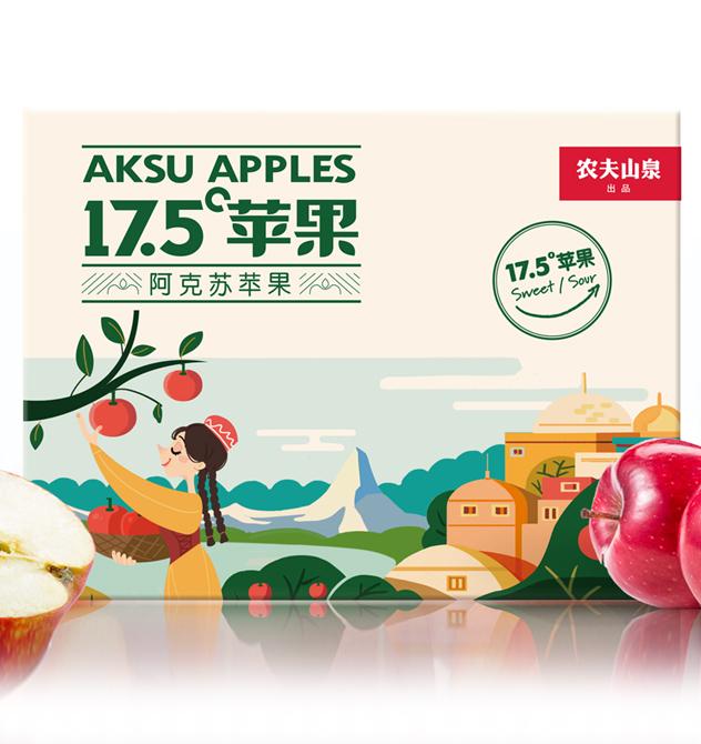 农夫山泉17.5°苹果如...